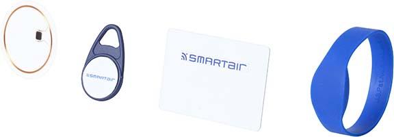 Identifiants SMARTair™ Pro Wireless Online